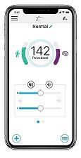 スターキー補聴器 Livio™ AI(リビオAI)スマートフォン操作画面